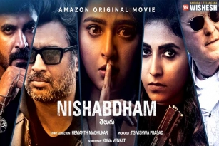 Nishabdham Creates a Record on Amazon Prime