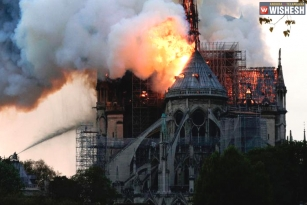 Fire Breaks Out at Notre Dame Cathedral