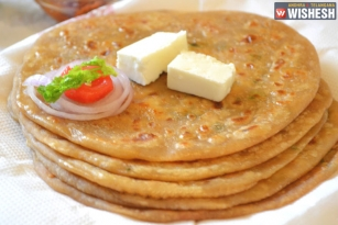 Tasty Paneer, Cheese, and Chili Paratha Recipe