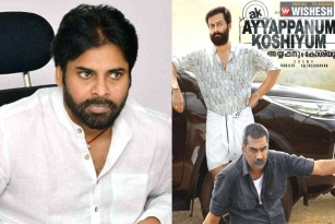 Pawan Kalyan to Complete Ayyappanum Koshiyum Remake in Record Time