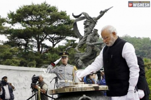 Prime Minister Narendra Modi in Seoul on a two-day visit