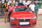 coaching institute, topper, rajasthan coaching institute gifts topper bmw, Bmw