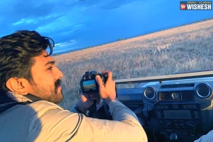 Ram Charan Holidaying in Africa