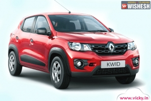 Renault Kwid 1.0 Gets Launch Date Announced