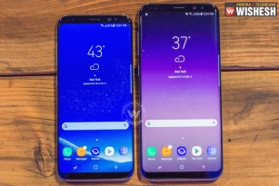 Samsung Unveils Its Latest Flagship Galaxy S8/S8+ In India