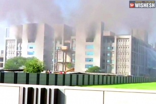 Massive Fire Breakout in Pune's Serum Institute of India