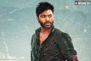 Sharwanand's Intense look from Maha Samudram is Here