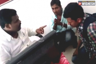 TRS Leader Caught Kicking Youth In A Video