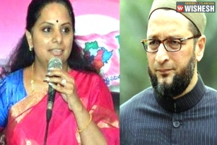 Telangana MP Kavitha Assures Arrest Of ABVP Workers On Owaisi Plea