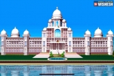 Telangana Government Releases The Proposed Design Of The New Secretariat