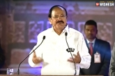 World Telugu Conference, Venkaiah Naidu, venkaiah naidu urges ap telangana to encourage telugu language, Language
