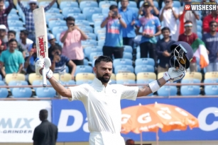 Virat Kohli Scores 24 Test Tons And Stood Next To Don Bradman