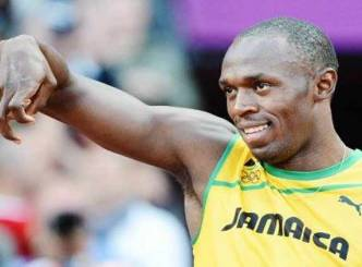 Usain Bolt creates another record