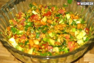 Moong Dal Salad recipe