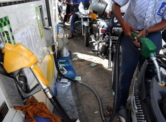 Petrol cheaper by a rupee from tomorrow