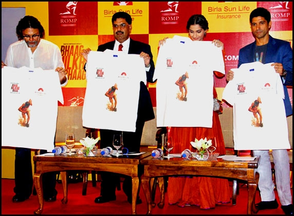 Bhaag Milkha Bhaag T-shirts gets launched