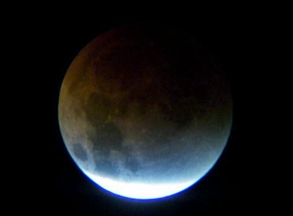 Partial lunar eclipse will be visible tomorrow night