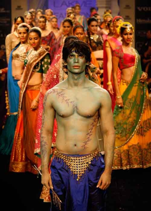 Radha Krishna cult for fashion