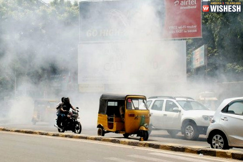 Air Pollution Takes A Rise In Telangana
