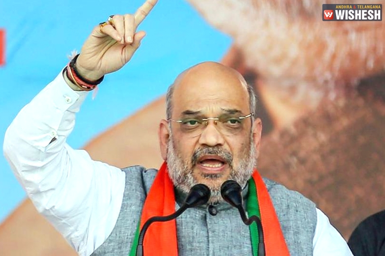 Amit Shah Lashes At KCR's Federal Front