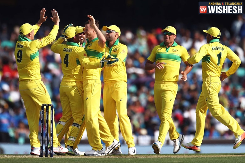Australia Beat India By 34 Runs In The First ODI