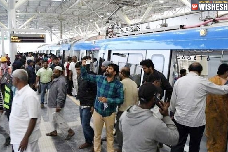 Hyderabad Metro: Happy With The Speed But Parking Problems And Price Issues