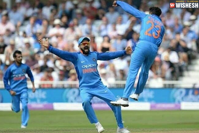 India Trashes England In The First ODI