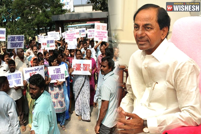 KCR to Take Crucial Decisions on TSRTC Employees