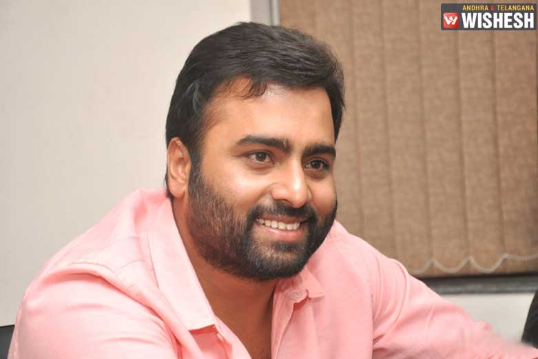 Nara Rohit Signs A Challenging Film