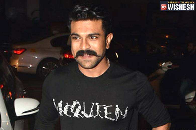 Busy Time for Charan on the Sets of RRR