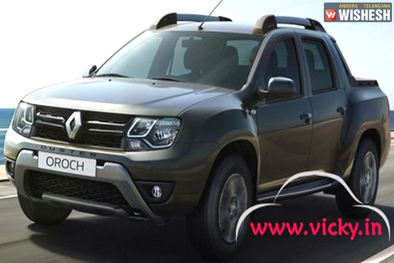 Renault Duster Oroch Pickup Truck Patented in India; Launch Expected Soon