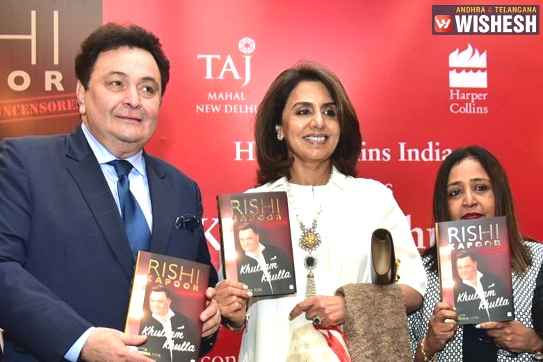 Rishi Kapoor Makes Shocking Confession at his Book Launch