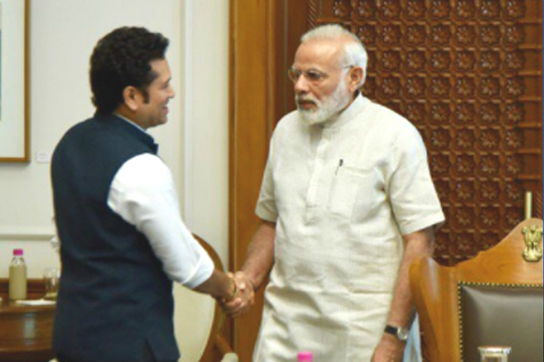Cricket Legend Meets PM Modi Ahead Of Movie Release