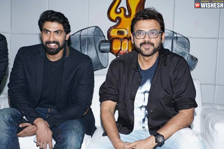 Venky - Rana's Web Series Gets An Interesting Title